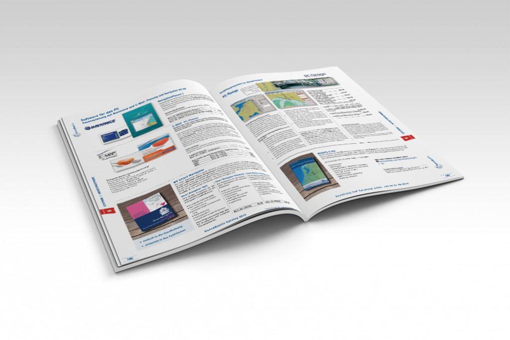 HanseNautic Print Katalog Layout Design Innenseiten