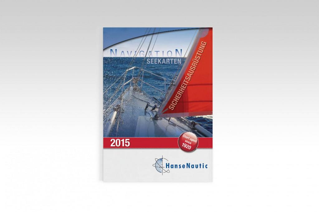HanseNautic Print Katalog Layout Design Titelseite