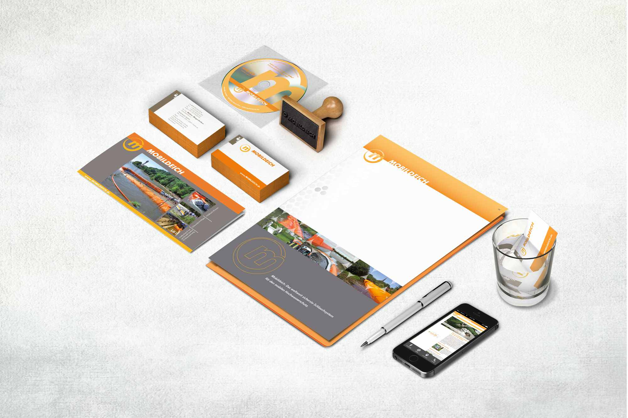 Mobildeich Corporate Design